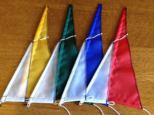12 Meter replacement sails-colored mains